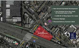 Retail Space for Rent located at SEC Newport Ave & El Camino Real Tustin, CA 92780