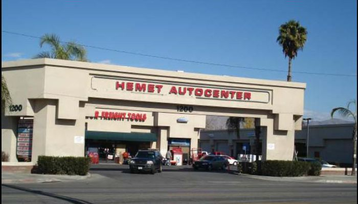 Warehouse for Lease located at 1200 W. Florida Ave Hemet, CA 92543
