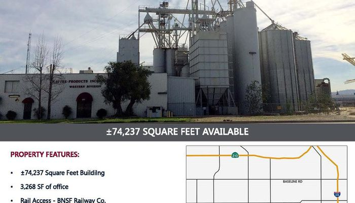 Warehouse for Lease located at 201 S. Cactus Ave. Rialto, CA 92376