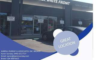 Retail Space for Rent located at 801 Baker Street, Suite B Costa Mesa, CA 92626