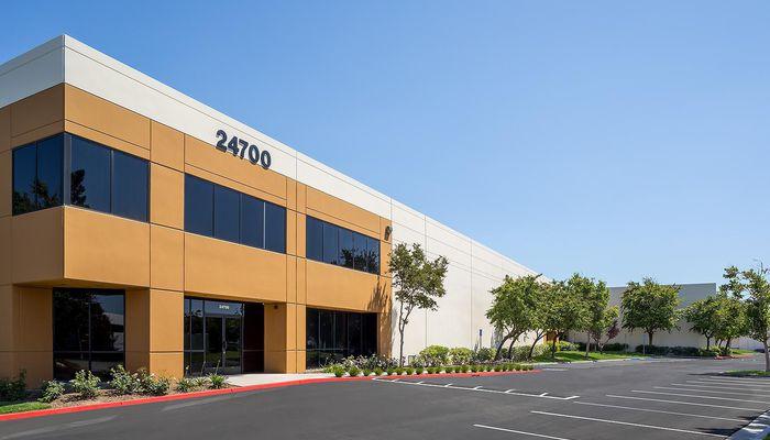 Warehouse for Lease located at 24700 Avenue Rockefeller Valencia, CA 91355