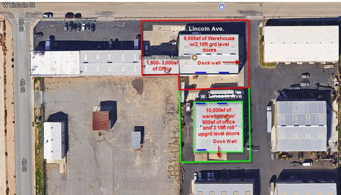 Warehouse for Lease located at 274 W Lincoln St Banning, CA 92220