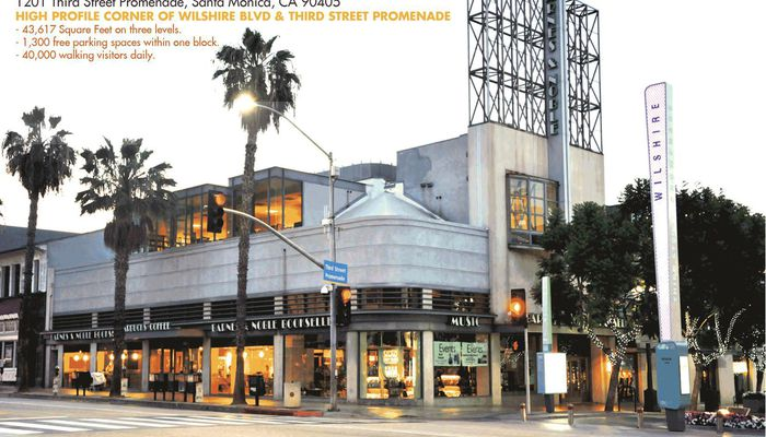 Office Space for Lease located at 1201 3rd Street Promenade Santa Monica, CA 90401