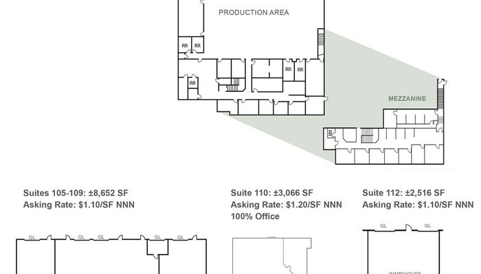 Lab Space for Rent at 10840 Thornmint Road San Diego, CA 92127 - #2