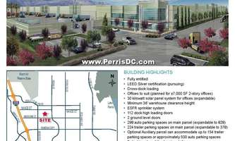 Warehouse for Rent located at 657 Nance Street Perris, CA 92571