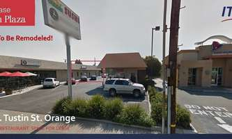 Retail Space for Rent located at 436 No Tustin St Orange, CA 92867