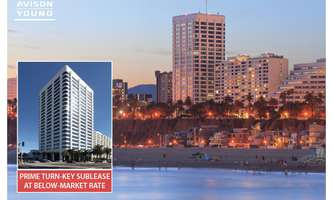Office Space for Rent located at 100 Wilshire Blvd. Santa Monica, CA 90401