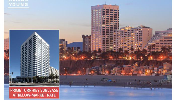 Office Space for Lease located at 100 Wilshire Blvd. Santa Monica, CA 90401