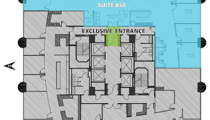 Office Space for Rent at 100 Wilshire Blvd. Santa Monica, CA 90401 - #4