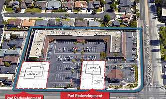 Retail Space for Rent located at 6010-6100 Warner Dale Avenue Huntington Beach, CA 92647