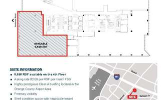 Retail Space for Rent located at 3161 Michelson Drive Irvine, CA 92715