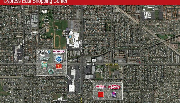 Retail Space for Rent at 10031 - 10201 Valley View St Cypress, CA 90630 - #4