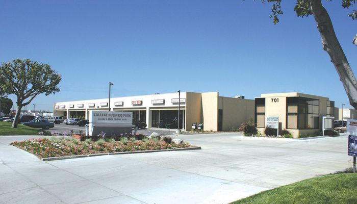 Warehouse for Lease located at 645-765 South State College Blvd. Fullerton, CA 92831