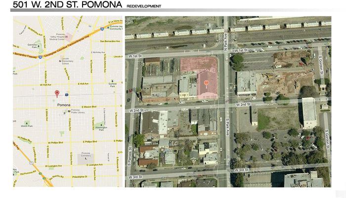 Warehouse for Lease located at 501 W 2nd St. Pomona, CA 91766